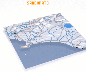 3d view of San Donato