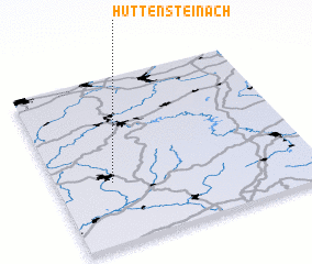 3d view of Hüttensteinach