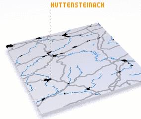 3d view of Hüttensteinach