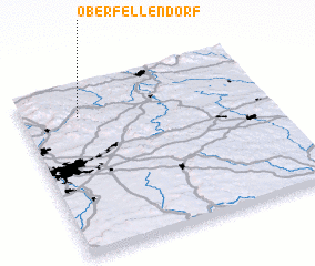 3d view of Oberfellendorf