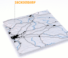 3d view of Sachsendorf