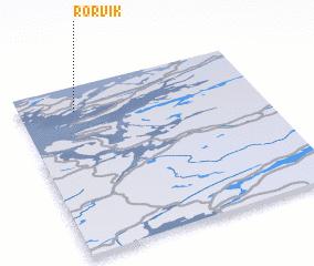 3d view of Rørvik