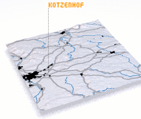 3d view of Kotzenhof