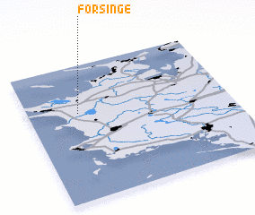 3d view of Forsinge