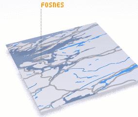 3d view of Fosnes
