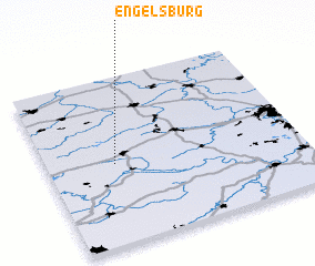 3d view of Engelsburg