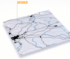 3d view of Weiher