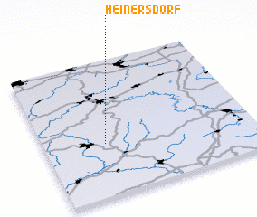 3d view of Heinersdorf