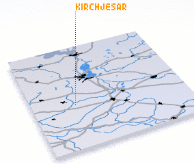 3d view of Kirch Jesar