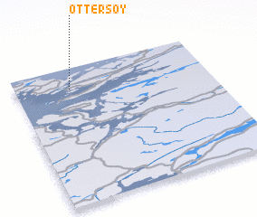 3d view of Ottersøy