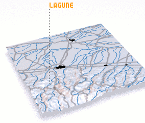 3d view of Lagune