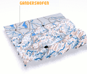 3d view of Gandershofen