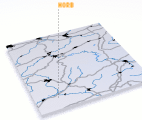 3d view of Horb