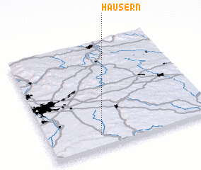 3d view of Häusern