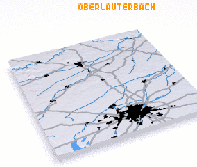 3d view of Oberlauterbach