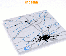 3d view of Gröbern