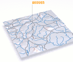 3d view of Akouén