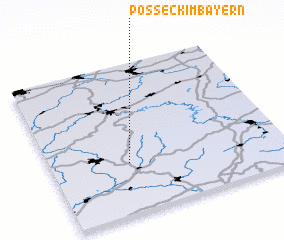 3d view of Posseck im Bayern