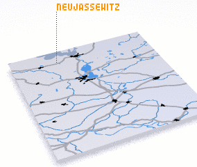 3d view of Neu Jassewitz