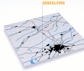 3d view of Graßlfing