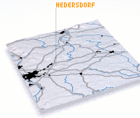 3d view of Hedersdorf