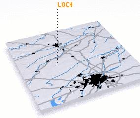 3d view of Loch