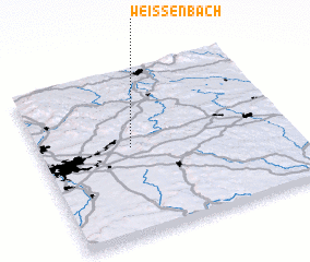 3d view of Weißenbach