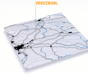 3d view of Kreuzbühl