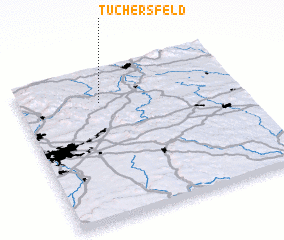 3d view of Tüchersfeld