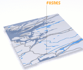 3d view of Fosnes