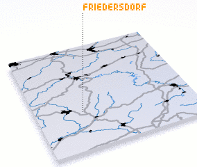 3d view of Friedersdorf