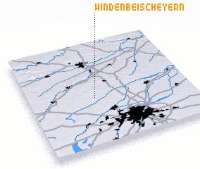 3d view of Winden bei Scheyern