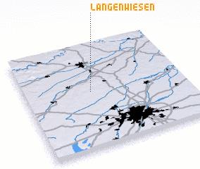 3d view of Langenwiesen