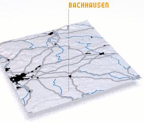 3d view of Bachhausen