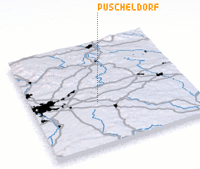 3d view of Püscheldorf