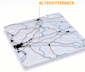3d view of Altensittenbach