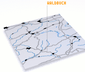 3d view of Waldbuch