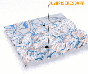 3d view of Olympisches Dorf