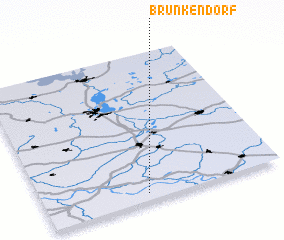 3d view of Brünkendorf