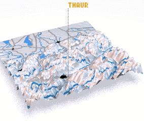 3d view of Thaur
