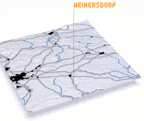 3d view of Weihersdorf