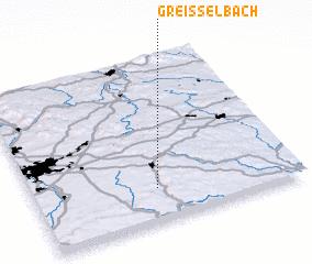 3d view of Greißelbach