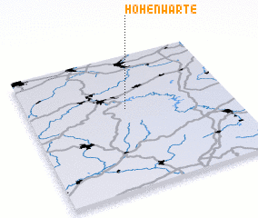 3d view of Hohenwarte