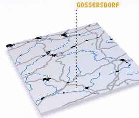 3d view of Gössersdorf