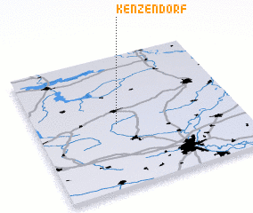 3d view of Kenzendorf