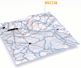 3d view of Moccia