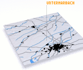 3d view of Untermarbach