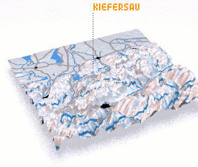 3d view of Kiefersau