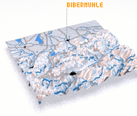 3d view of Bibermühle