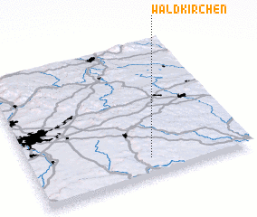 3d view of Waldkirchen